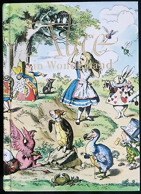 Alice in Wonderland Through the Looking Glass Illustrated Junior Library HC