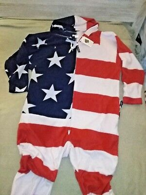 Forever Lazy American flag pajamas 4 Politician politics gag gift XL hoodie