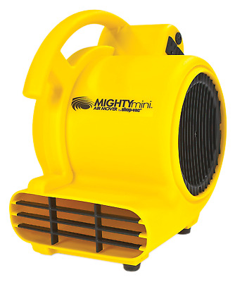 Portable Plastic Air 3 Movers 3 Positions 500 CFM Concentrated Air Movement