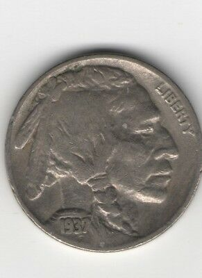 1937-S 5C Buffalo Nickel nice solid date and mint mark on this one
