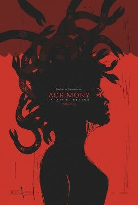 ACRIMONY original Double Sided 27x40 movie poster Free Shipping With Tracking