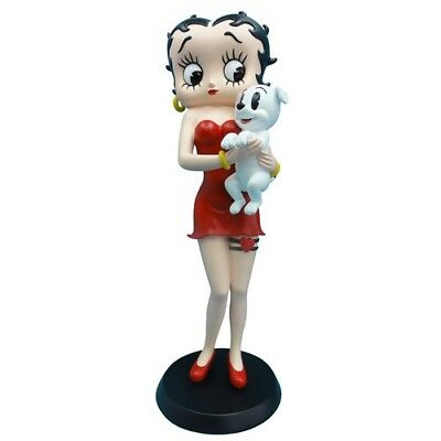 Statuette Betty Boop tenant Pudgy