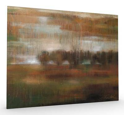 River Bank Stretched Canvas
