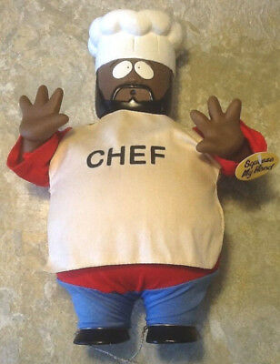 South Park DANCING CHEF, Works Great. RARE = Dances while music plays.