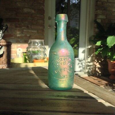 Pontiled S.Pablo Soda/Mineral Water Bottle New Orleans- Ellipse- Benecia Glass.