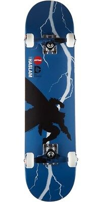 "Almost Skateboards Complete Dark Knight Returns 7.75"" Batman Haslam Skateboard D"