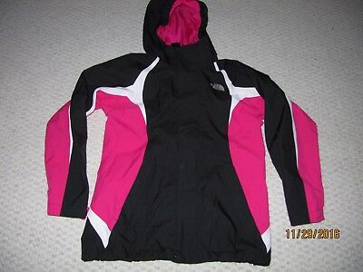 The North Face Mountain View Jacket Black Passion Girl Large Outer Shell Only