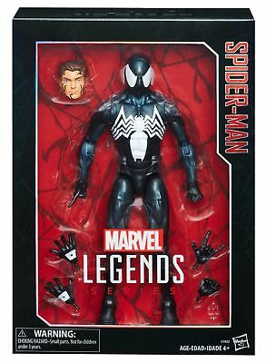 "2017 X'mas Sale Hasbro Marvel Legends 12"" Symbiote Black Spider-Man Figure"