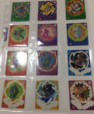 Beyblade Tazos Mint Condition Complete Set Of 65 House In Ultra Pro Sleeves