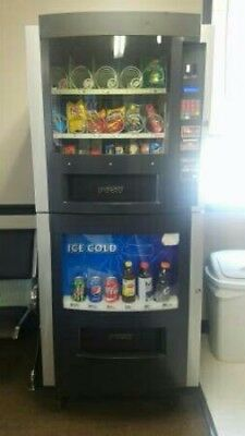 Vending Machine 1800-vending Combo soda snack all in one food truck trailer