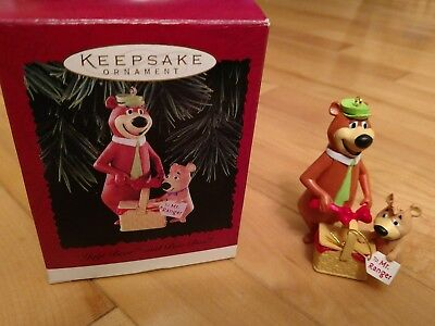 hallmark ornament yogi bear and boo boo  1996