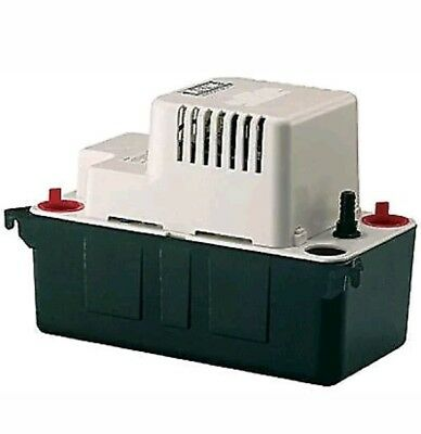 W2   Little Giant VCMA20S Condensate Removal Tank Pump 554471 294 litre per hour