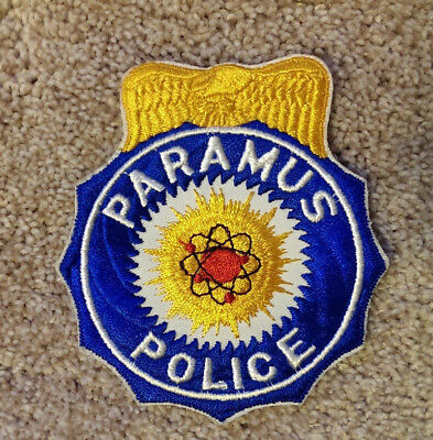 Vintage Police Patch Paramus New Jersey Police Patch, Law Enforcement Collectibl