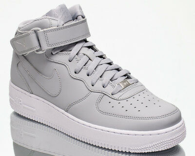 new concept 5d2c6 2bd93 Nike Air Force 1 Mid 07 AF men lifestyle sneakers NEW wolf grey white  315123-