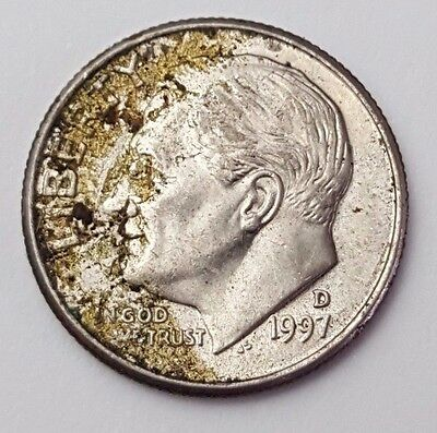 Dated : 1997 - USA - Roosevelt - One Dime - Coin - United States of America