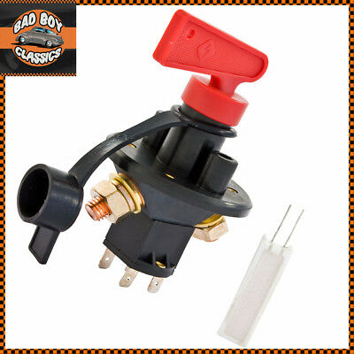 FIA Heavy Duty Battery Master Isolator Cut Off Kill Switch