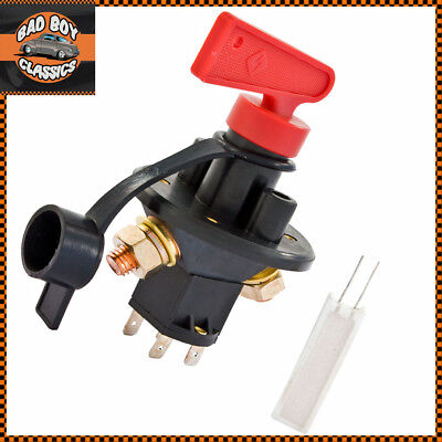 FIA Type Battery Master Isolator Cut Off Kill Switch Road Race Rally