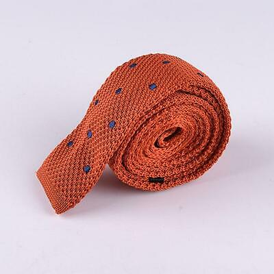 Polka Dot Knit Ties