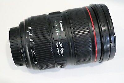 Canon EF 24-70mm Mark II f/2.8 Zoom Lens, Good Condition