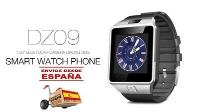 Reloj Inteligente  DZ09 Bluetooth  SmartWatch para Android IOS TF SIM