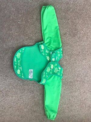 Bibetta Ultrabib With Sleeves (Green Owls Print) Best Selling Bib Brand