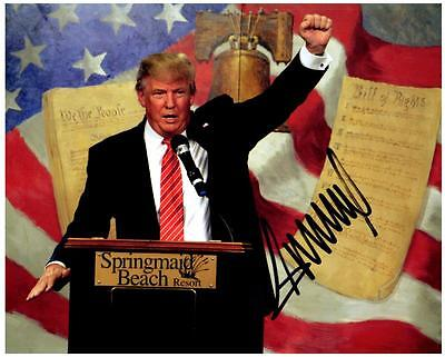 Donald Trump 8x10 Signed Autographed Photo Picture with COA