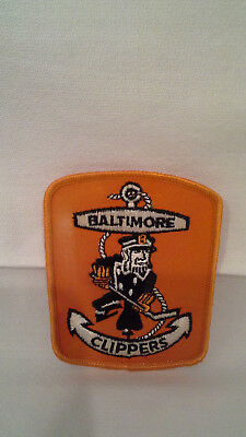 Vintage 1960's Baltimore Clippers Ice Hockey Sew-on Patch