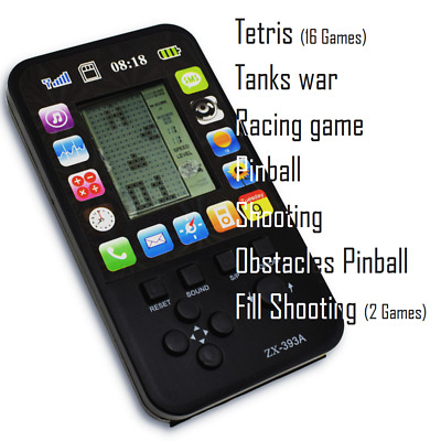 Built-In 23 Games Portable Handheld Gameboy Retro Console Tetris & more Player