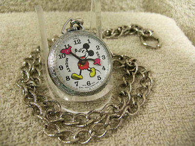 Vintage New Old Stock Mickey Mouse RARE Fat Boy Pendant possible Prototype MINT!