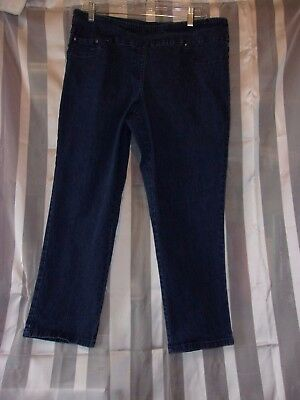 "Maternity Jeans~ Women's Size 14P ~ ""ruby Rd. ~ Dark Wash ~ ""euc"""
