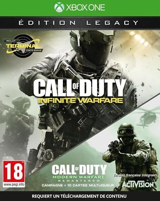 Call of Duty Infinite Warfare Xbox One Legacy Edition Brand New Factory Sealed