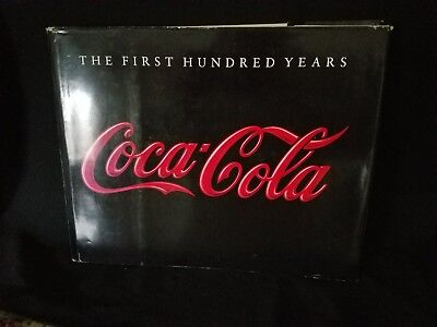 1986 Coca-Cola, Coke First 100 Hundred Years Book, Text by Anne Hoy