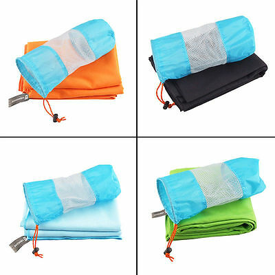 Microfibre Quick Drying Sports Travel Towel Soft Camping Gym Fitness Swim Hiking