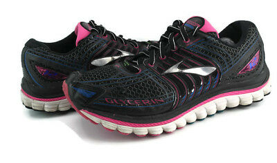 2c4cf048a96 Brooks Glycerin 12 Women s Multi-Colored Lace Up Athletic Running Shoes  Size 7.5