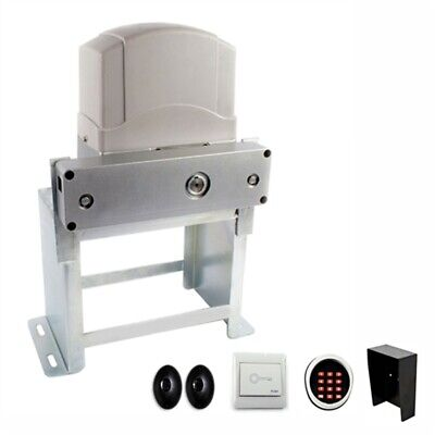 ALEKO Gate Opener with Accerssories Kit For Sliding Gates Up To 60Ft 2700Lb