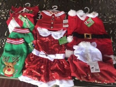 *NEW* Wholesale Lot 23 Christmas, Winter Dog Cat Dresses,Sweaters, Accessories