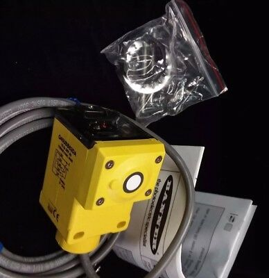 NEW Banner Engineering Q45UBB63DA ULTRASONIC SENSOR 44128  4-55 in. 12-24V dc