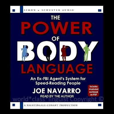 NEW 6 CD The Power of Body Language Ex-FBI Agent's System Speed-reading People