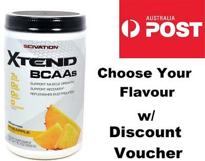 Scivation Xtend BCAAs L-Leucine L-Glutamine L-Isoleucine 30 Serve/Servings