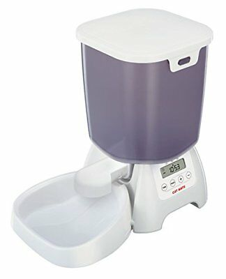 C3000 Automatic Dry Food Feeder For Cats And Small Dogs By Cat Mate