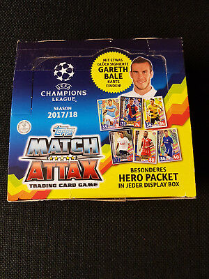 Match Attax UEFA Champions League 2017/18 - Display Box Neu  von Topps