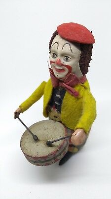 Antique Vintage rare old collectible Clown tin toy made in Germany
