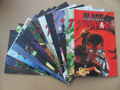 Black Terror 1 - 14 . Lot Complet . Dynamite 2008 . VF