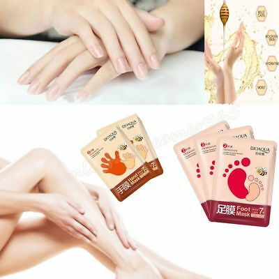 1 Pack Hand/Foot Mask Peel Wax Remove Hard Dead Skin Mask Exfoliating Moisture