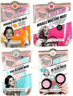 Soap & Glory The Mask Force Beauty Mask-Haves Face Masks New