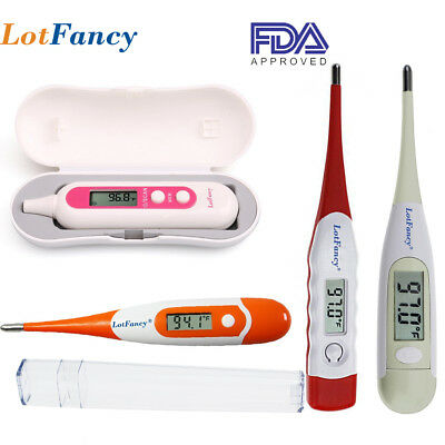 Digital Electronic Fever Ear Underarm Thermometer Gun Infrared Baby Child Adult