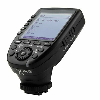 Newest GODOX XPro-S 2.4G TTL HSS Wireless Trigger Transmitter For Sony Cameras