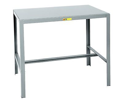 "Little Giant MT1-1824-30 Steel Top Machine Table, 18"" D x 24"" W x 30"" H, Gray"