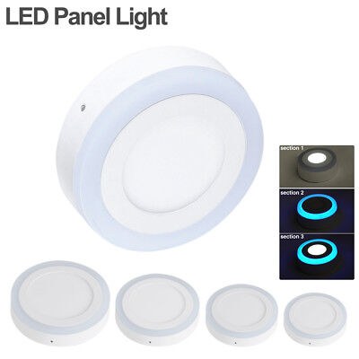 circular acrylic down light dual-color surface led panel lamp dining room DCE9