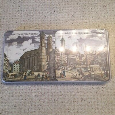 Alt-Munchen Germany Coaster set of 6